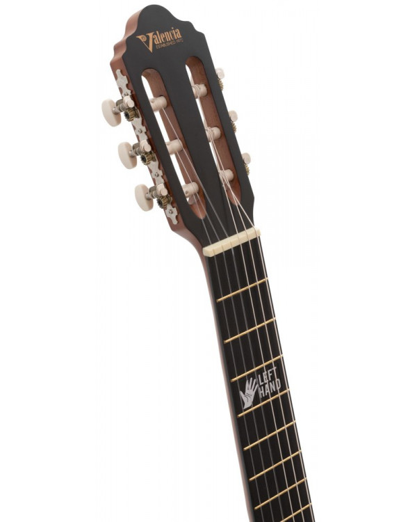 Гитара классическая Valencia VC204L - 4/4 Левосторонняя