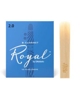 D'ADDARIO Royal - Bb Clarinet #2.0 (1шт)