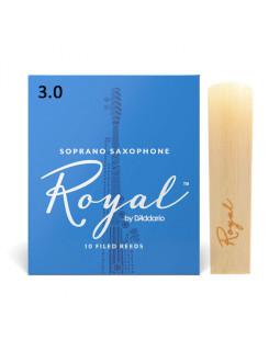 D'ADDARIO Royal - Soprano Sax #3.0 (1шт)