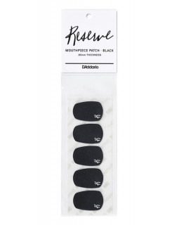 D'ADDARIO Reserve Mouthpiece Patches (Black)