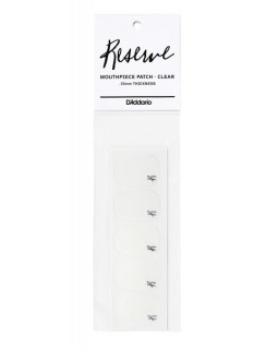 D'ADDARIO Reserve Mouthpiece Patches (Clear)