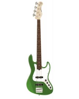 SADOWSKY MetroExpress 21-Fret Vintage J/J Bass, Morado, 4-String (Solid Sage Green Metallic Satin)