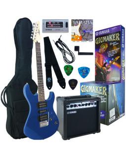 Набор для начинающих гитаристов YAMAHA GIGMAKER ERG121 GPII (Metallic Blue)