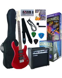 Набор для начинающих гитаристов YAMAHA GIGMAKER ERG121 GPII (Metallic Red)