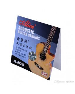 ALICE A206-SL Струны для акустической гитары