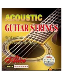 ALICE A407 Струны для акустической гитары