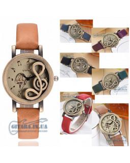 ALL SOUNDS CH24 Наручные часы со скрипичным ключом (бронза)