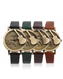 ALL SOUNDS CH26 Наручные часы с гитарой (бронза)