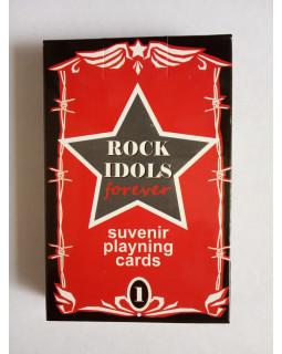 Rock Idols Forever Карты сувенирные игральные