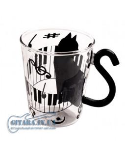 ALL SOUNDS AS906 Чашка Кошка и ноты