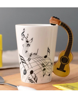 ALL SOUNDS AS908 Чашка Классическая гитара и ноты