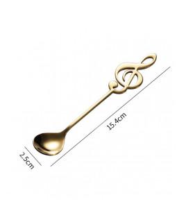 ALL SOUNDS AS910GD Чайная ложка со скрипичным ключом