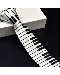 ALL SOUNDS AS105 Галстук мужской Клавиши пианино