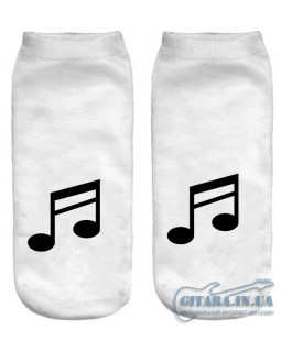 ALL SOUNDS AS120 Носки белые
