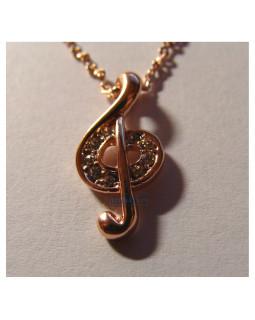 ALL SOUNDS AS310 Скрипичный ключ на цепочке