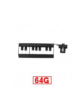 ALL SOUNDS Флешка Пианино 64 Гб