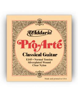 Струны для классической гитары Daddario EJ45
