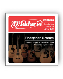 Струны для бас-гитары DADDARIO EPBB170