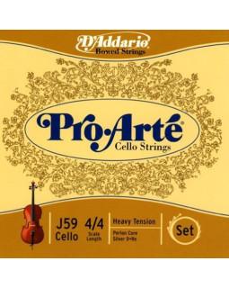 Струны для скрипки D`ADDARIO J59 4/4H