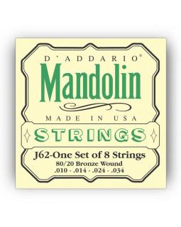 DADDARIO J62 Струны для мандолины