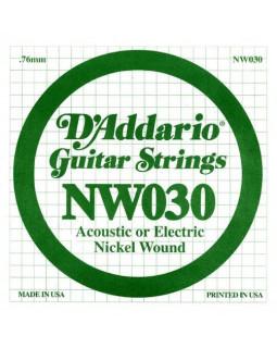 Струны для электрогитары DADDARIO NW030