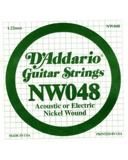 Струны для электрогитары DADDARIO NW048