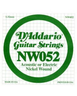 Струны для электрогитары DADDARIO NW052