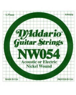Струны для электрогитары DADDARIO NW054