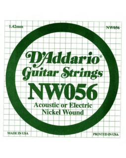 Струны для электрогитары DADDARIO NW056