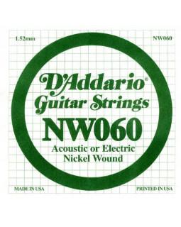 Струны для электрогитары DADDARIO NW060