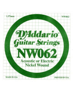 Струны для электрогитары DADDARIO NW062