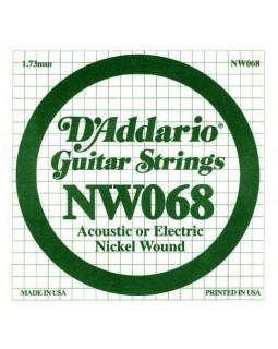 Струны для электрогитары DADDARIO NW068