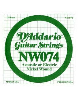Струны для электрогитары DADDARIO NW074