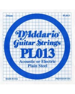 Струны для электрогитары DADDARIO PL013 (1-я струна)