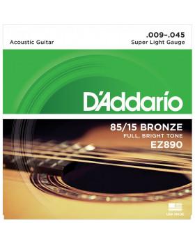 DADDARIO EZ890 Струны для акустической гитары