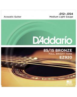 DADDARIO EZ920 Струны для акустической гитары