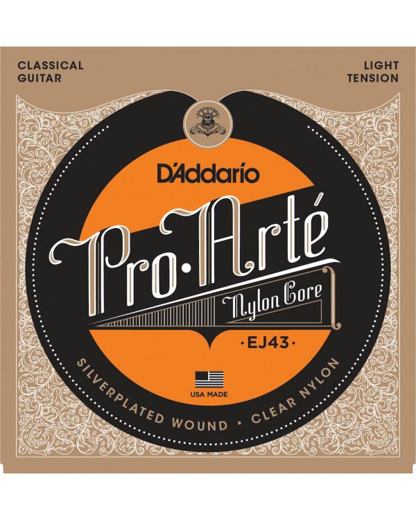 Струны для классической гитары Daddario J43