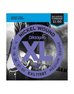 Струны для электрогитары DADDARIO EXL115BT