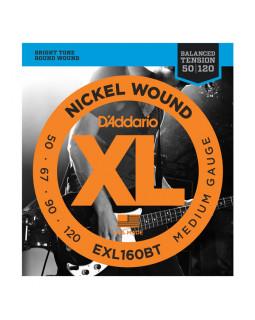 Струны для бас-гитары DADDARIO EXL160BT