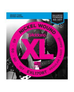 Струны для бас-гитары DADDARIO EXL170BT