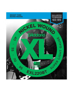 Струны для бас-гитары DADDARIO EXL220BT