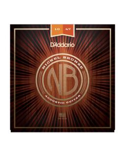 Струны для акустической гитары DADDARIO NB1047