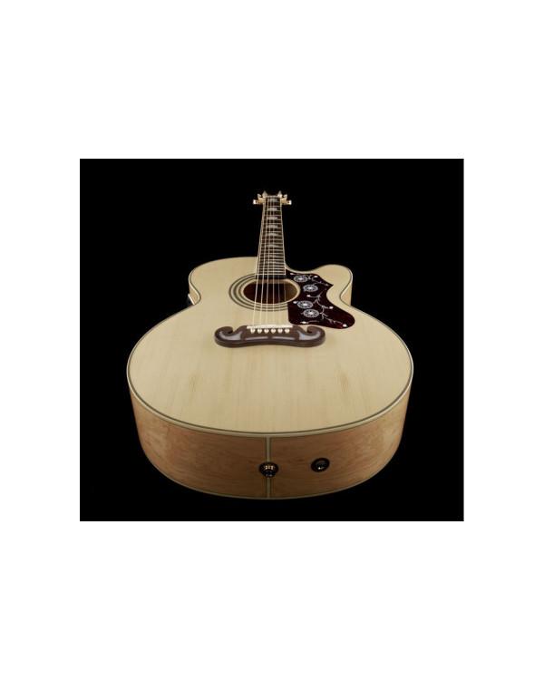 Электроакустическая гитара EPIPHONE EJ-200SCE NAT GH