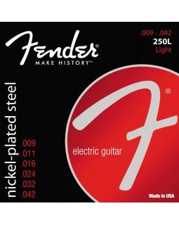 FENDER 250L Струны для электрогитары