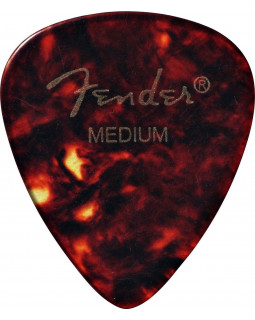 FENDER 351 CLASSIC CELLULOID SHELL MEDIUM Медиатор