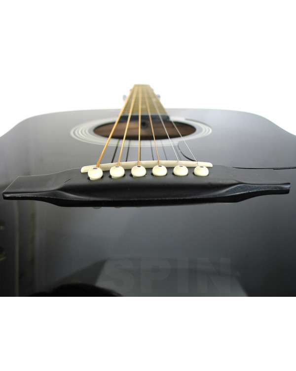 FENDER SQUIER SA105 BK Гитара акустическая