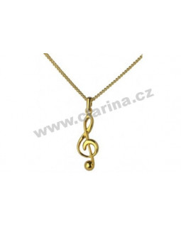 GEWA 980110 Кулон скрипичный ключ