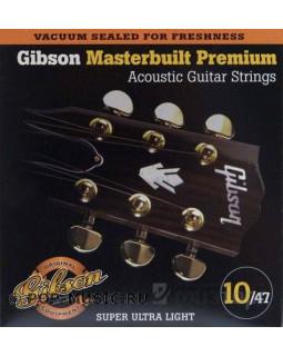 GIBSON SAG-MB10 MASTERBUILT PHOSPHOR BRONZE Струны для акустической гитары
