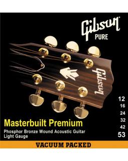 GIBSON SAG-MB12 MASTERBUILT PHOSPHOR BRONZE Струны для акустической гитары
