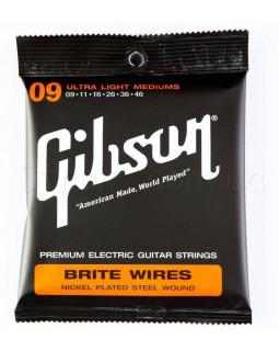 GIBSON SEG-700ULMC BRITE WIRES NPS WOUND ELECT Струны для электрогитары